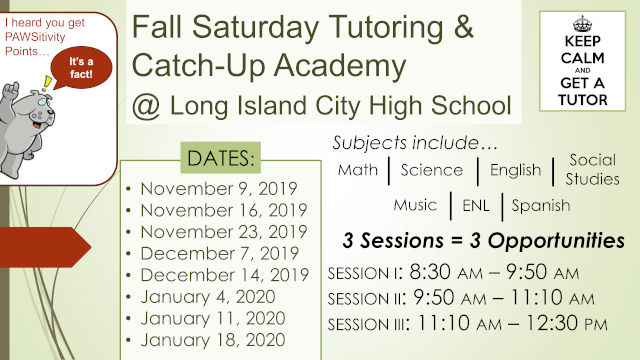 Link to PDF of Fall 2019 Saturday Tutoring Poster v2